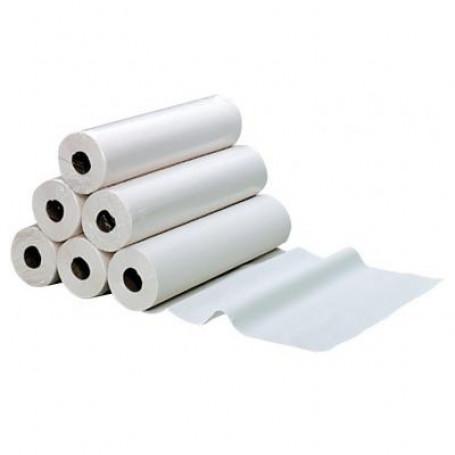 Drap d'examen lisse 150 Formats Pure Ouate (70 x 38cm) - 6 Rouleaux