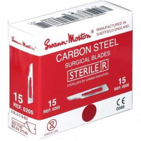 Lame de bistouri stérile Swann-Morton - Boîte de 100