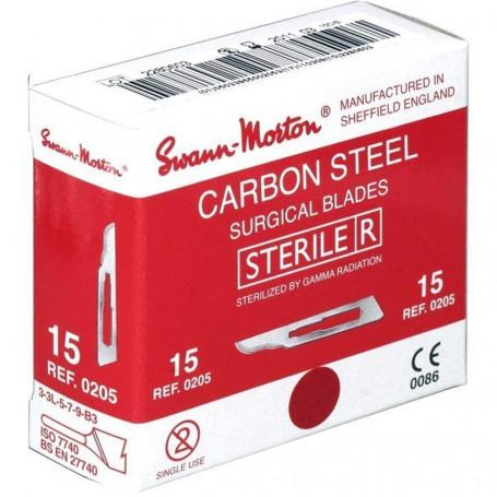 Lame de bistouri stérile Swann & Morton  - Boîte de 100