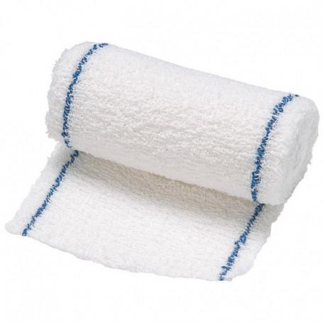 Bande de crêpe en pur coton 4x7cm