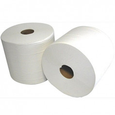 Bobine 1000 Formats Pure ouate blanche - 2 Bobines