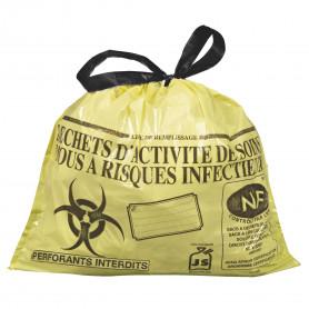 Sacs pour déchets médicaux DASRI 20L