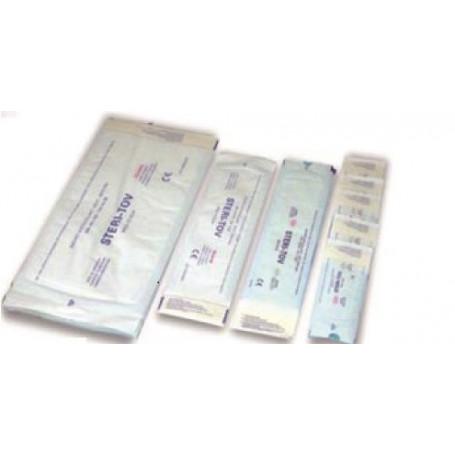 Sachets de stérilisation auto adhésifs 90 x 260 mm - Boîte de 200
