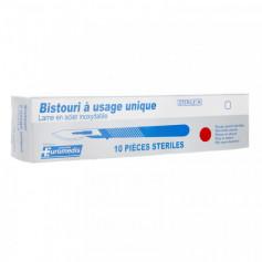 bistouri stérile à usage unique taille 15