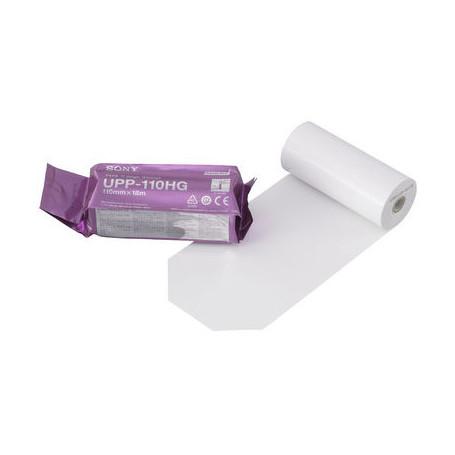 Papier Thermique SONY ORIGINAL UP110HG - 10 Rouleaux