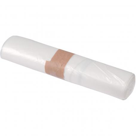 Sac poubelle Blanc 50L - 14 microns - Carton de 500