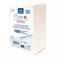 LCH - Compresse Pure N30 en non tissé non stérile - Paquet de 100