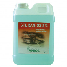 Steranios 2% - Désinfection totale à froid Bidon de 2L