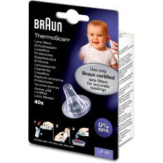 Braun LF40 40 Embouts jetables pour thermomètres auriculaires