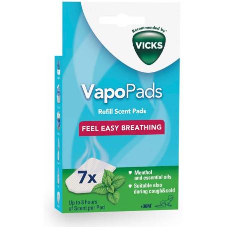 VapoPads - Tablettes parfumées aux huiles essentielles VICKS
