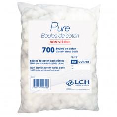 Coton Boules PURE - Sachet de 700 boules - LCH