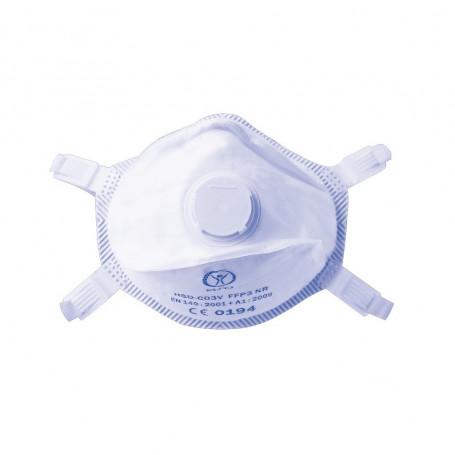 LCH - Masque FFP3 avec valve x 5 Pièces