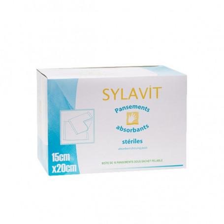 Pansement absorbant stérile 15 x 20 cm - Boîte de 10