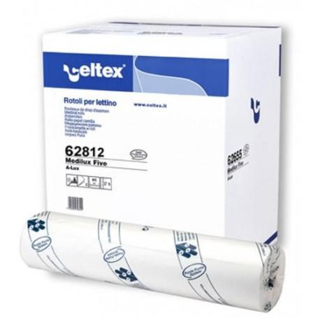 Draps d'examen gaufrés Celtex - 50cm - 9 rouleaux